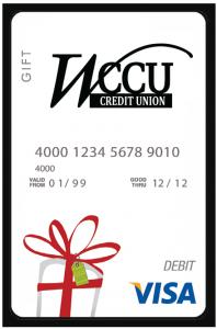 WCCU Visa Gift Card