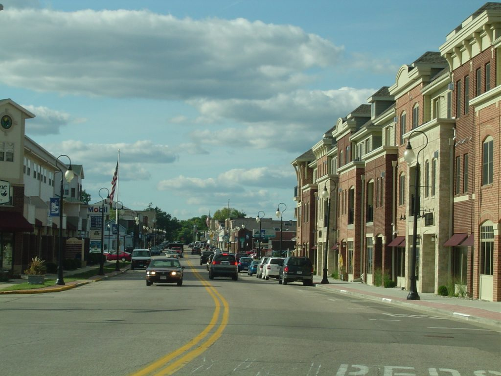 Downtown Prairie du Sac