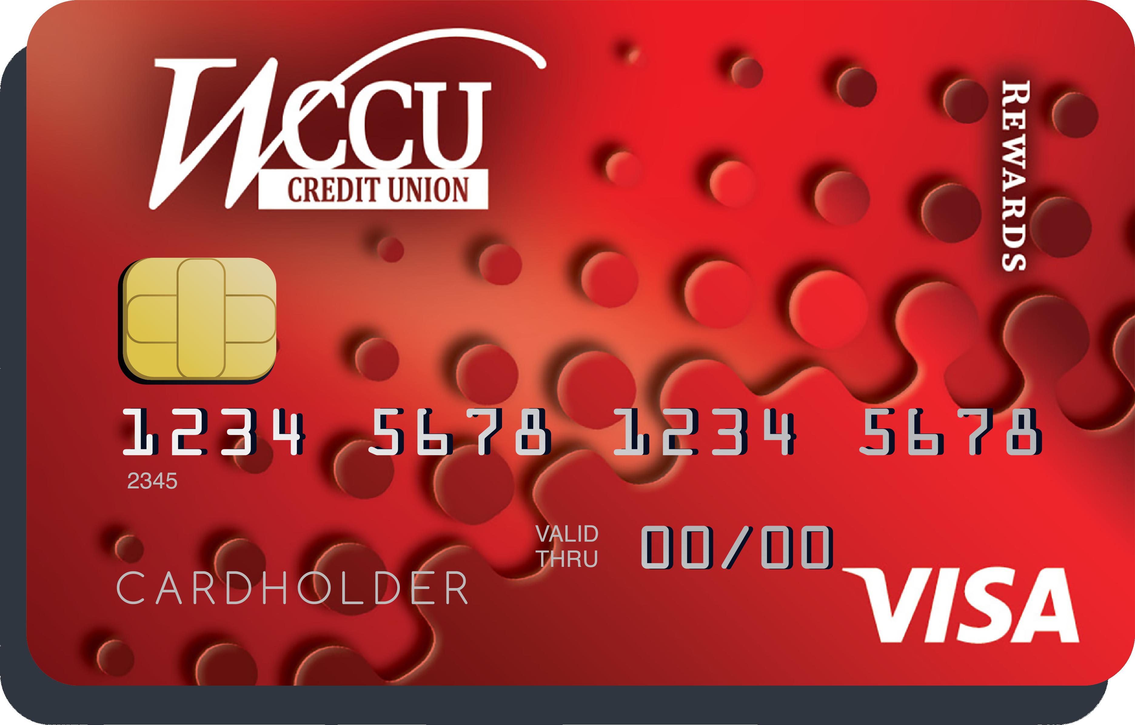 WCCU Ruby Rewards Visa Credit Card